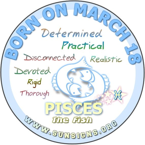 March Zodiac Sign Pisces