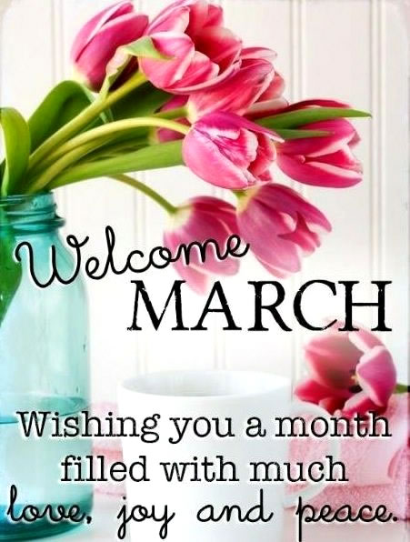 Welcome Month Of March Quotes