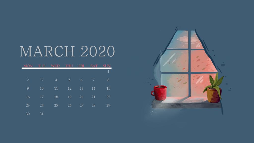 Cute March 2020 Wallpaper